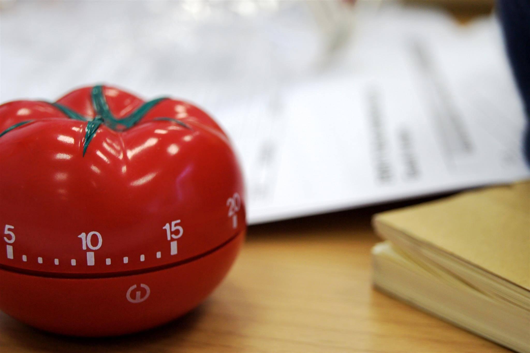 Таймер в виде помидора