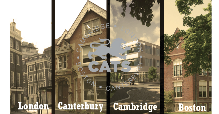 Колледжи CATS Canterbury в Лондоне, Кантербери, Кембридже, Бостоне