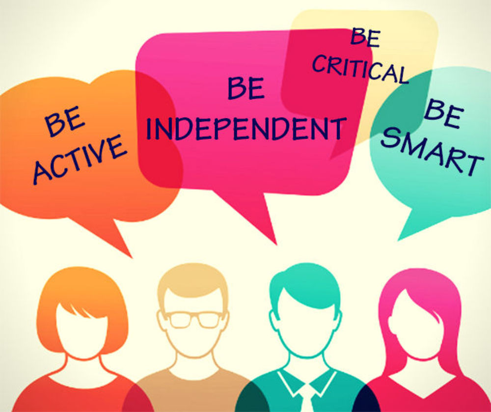 be_active_be_smart_be_independent_be_critical