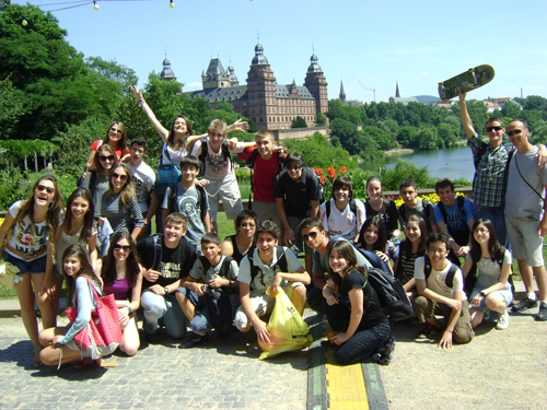 дети на каникулах в языковом лагере в Германии