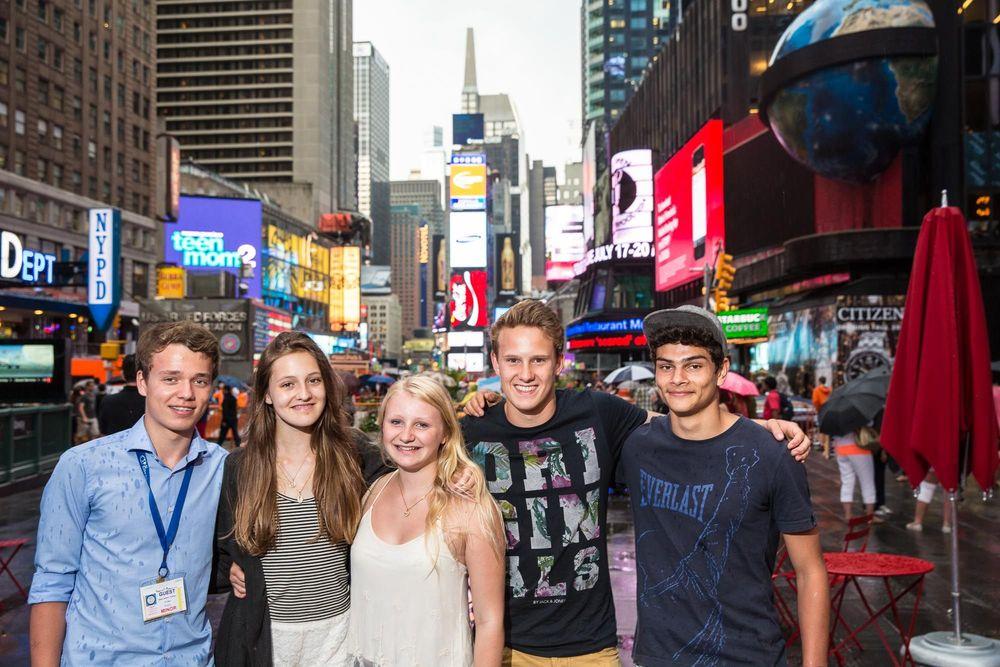 дети на каникулах в США