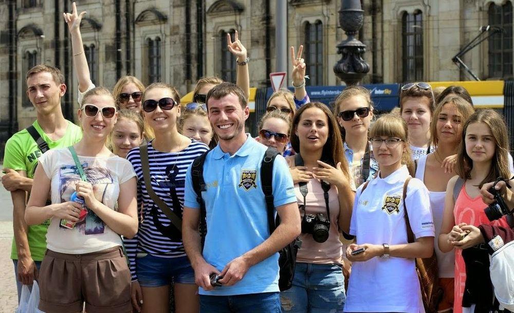 дети на каникулах в Чехии