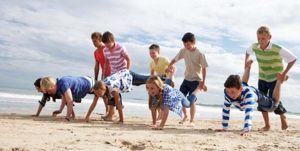 Дети на каникулах в Испании