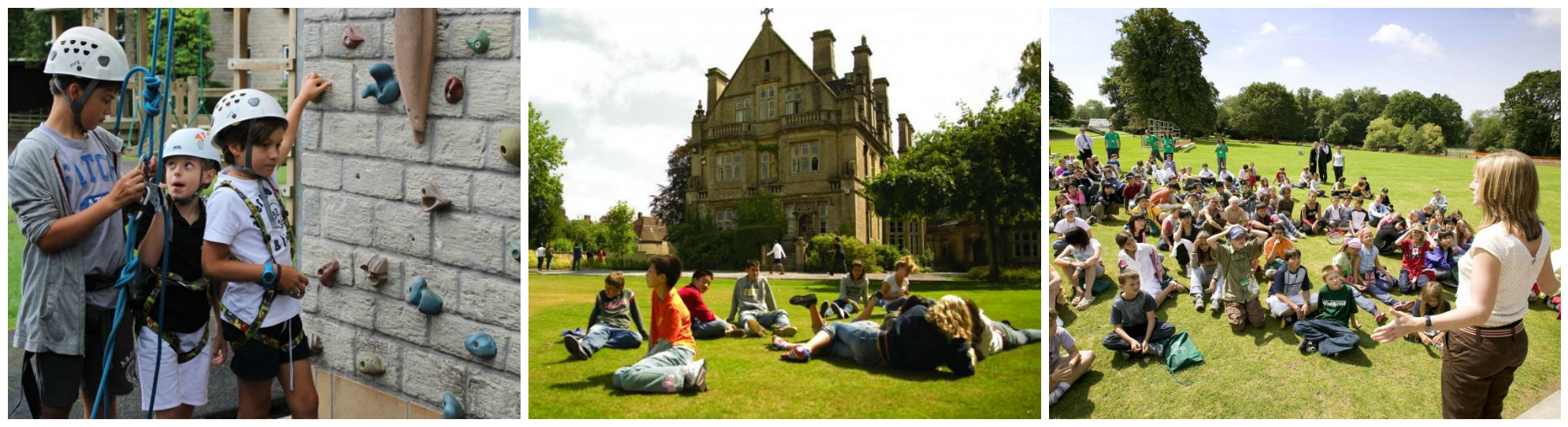 коллаж о детских каникулах летом в англии