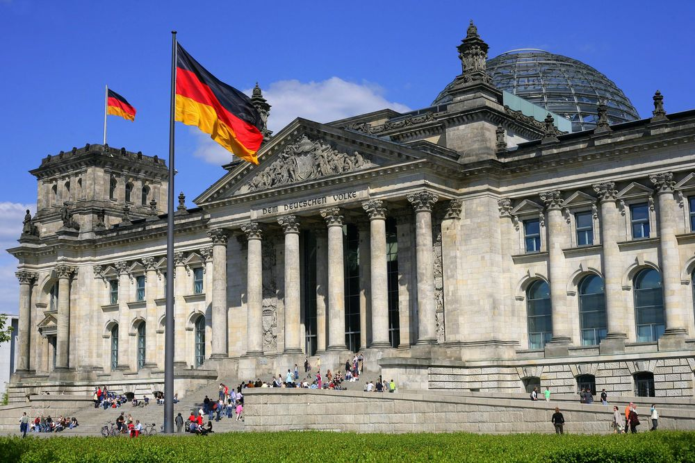 экскурсия в Рейхстаг на каникулах в Германии