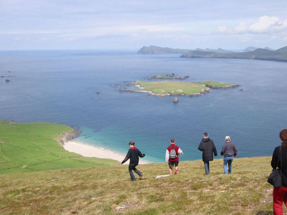 Дети на каникулах в Ирландии