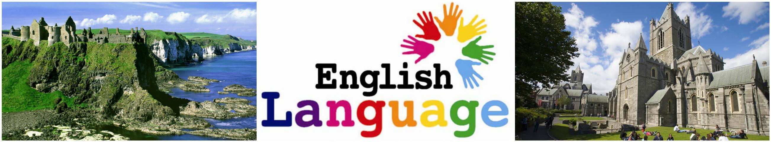 коллаж курсы английского языка для детей в Ирландии