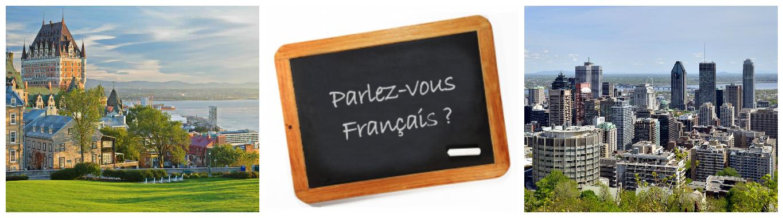 коллаж французский язык в Канаде для детей