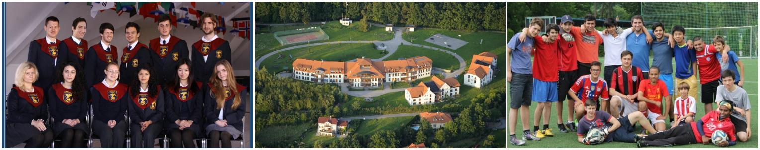 коллаж выпускники и студенты средней школы в Чехии