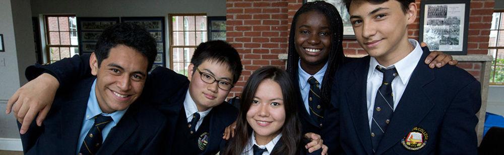 студенты частной школы в Канаде