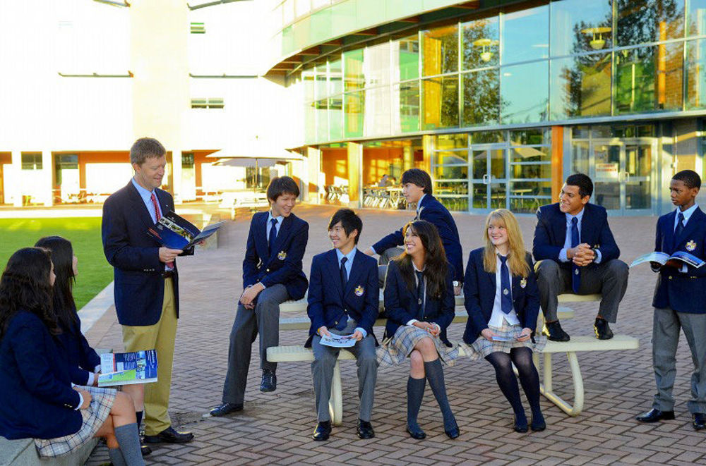 студенты средней школы в Канаде