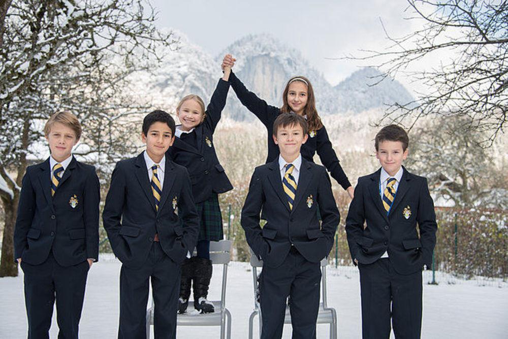 ученики частной школы-пансион в австрии