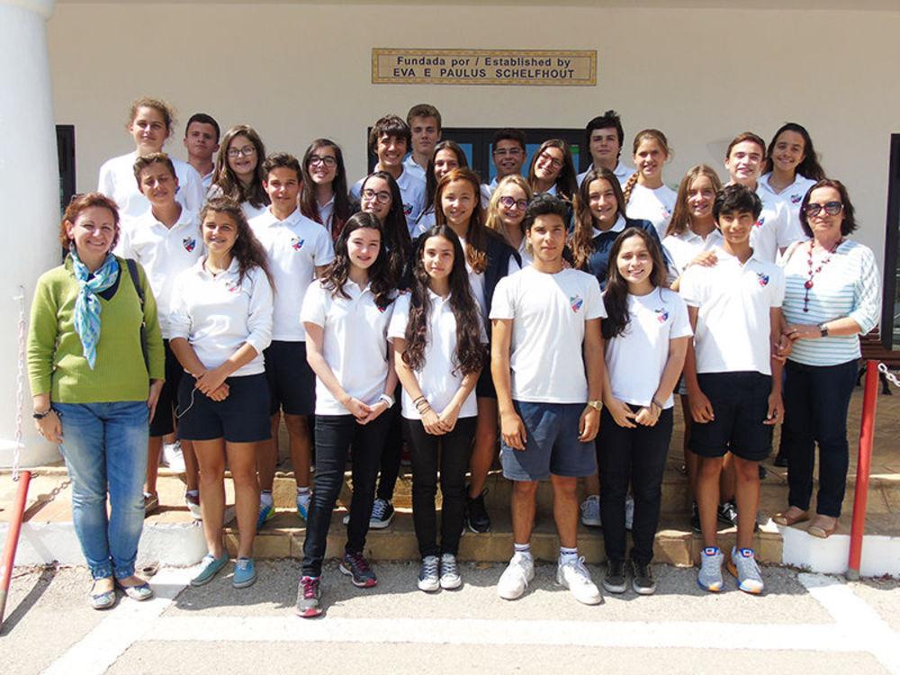 студенты частной международной школы в Португалии