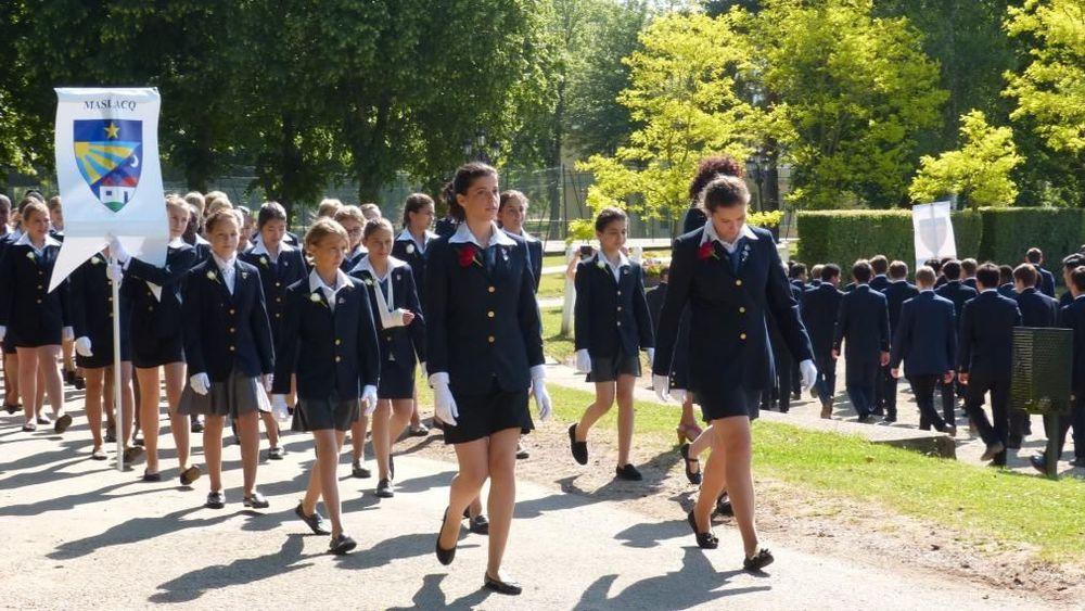 студенты международной школы во Франции