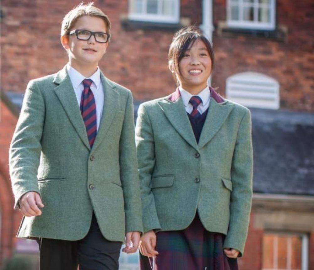 ученики школы-пансион в великобритании
