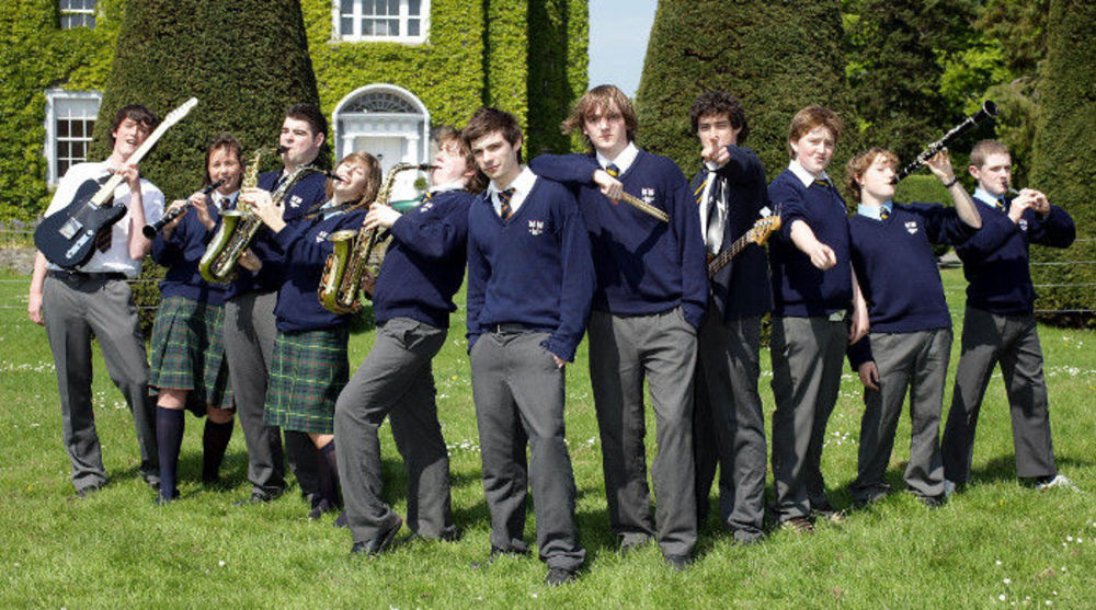 Ученики средней школы в Ирландии