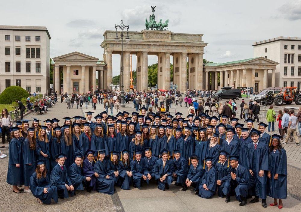 Выпускники средней школы в Германии