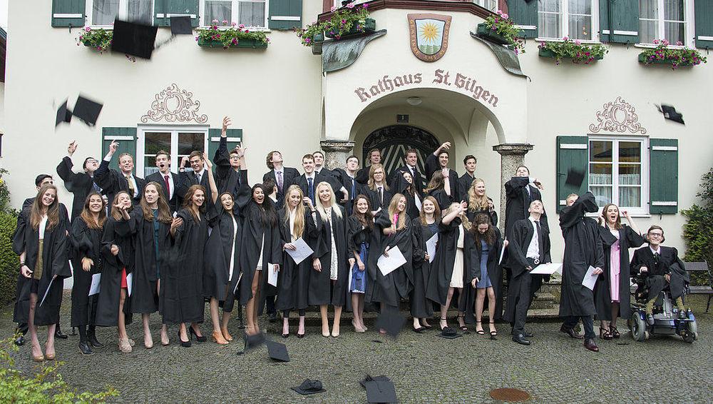 випускники середньої школи в Австрії