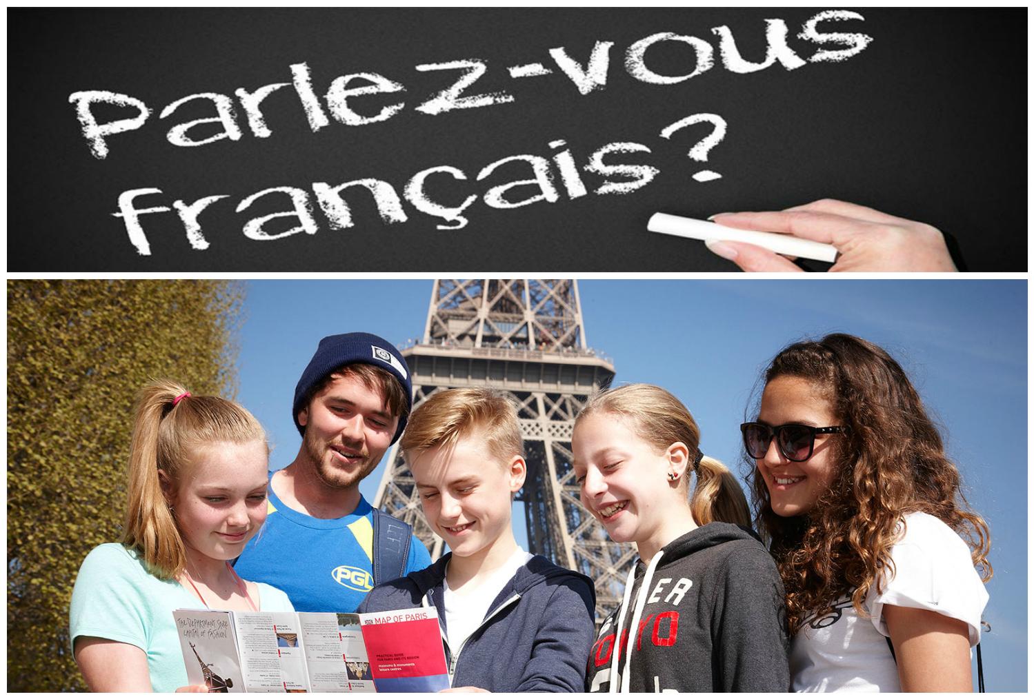 діти у франції на курсах французької