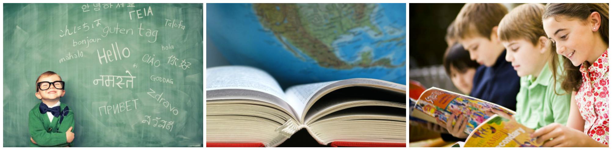 коллаж курсы иностранных языков для детей за границей