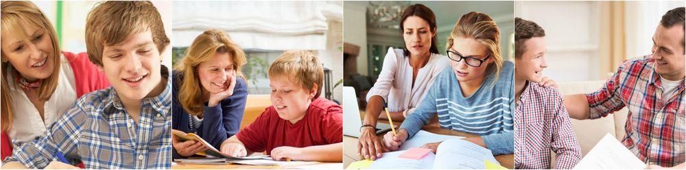 колаж навчання в сім'ї викладача за кордоном