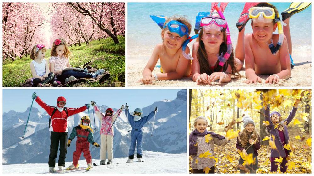 каникулы для школьников за рубежом