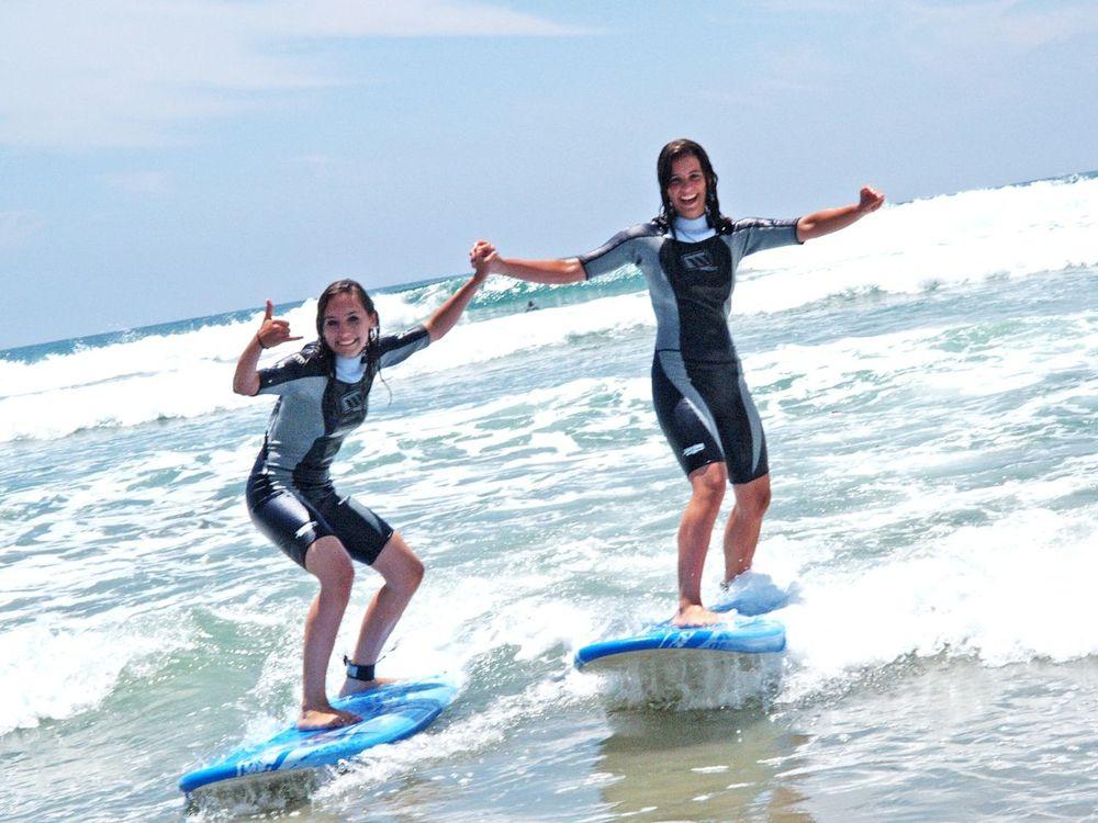 серфинг для детей за границей