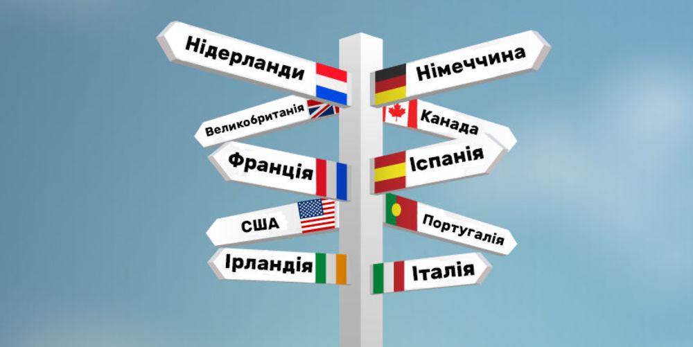 в якій країні навчатися дитині за кордоном