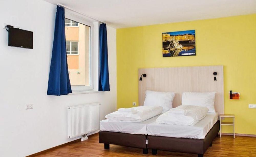 двухместная комната в резиденции лагерь DID Вена