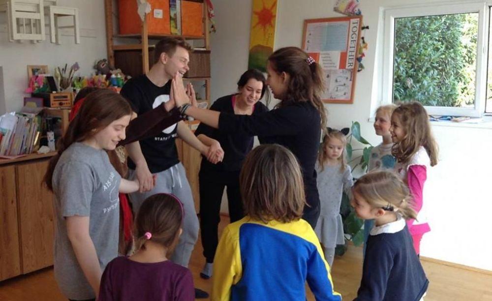 развлекательные мероприятия в лагере American International School Salzburg