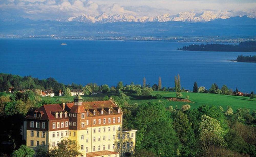 вид на школу Schule Schloss Salem