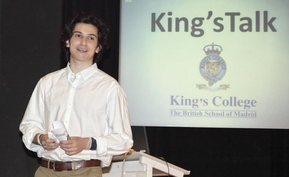 ученик King's College, The British School of Madrid (Tres Cantos)