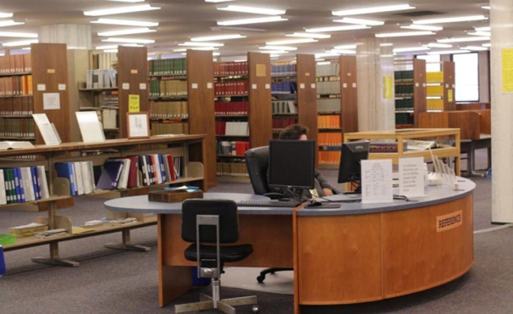 библиотека Saint Peter's University лагерь FLS