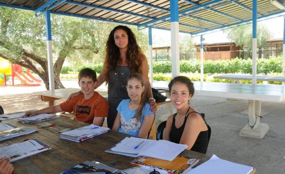 Accademia Italiana Elea Village Club занятия под открытым небом