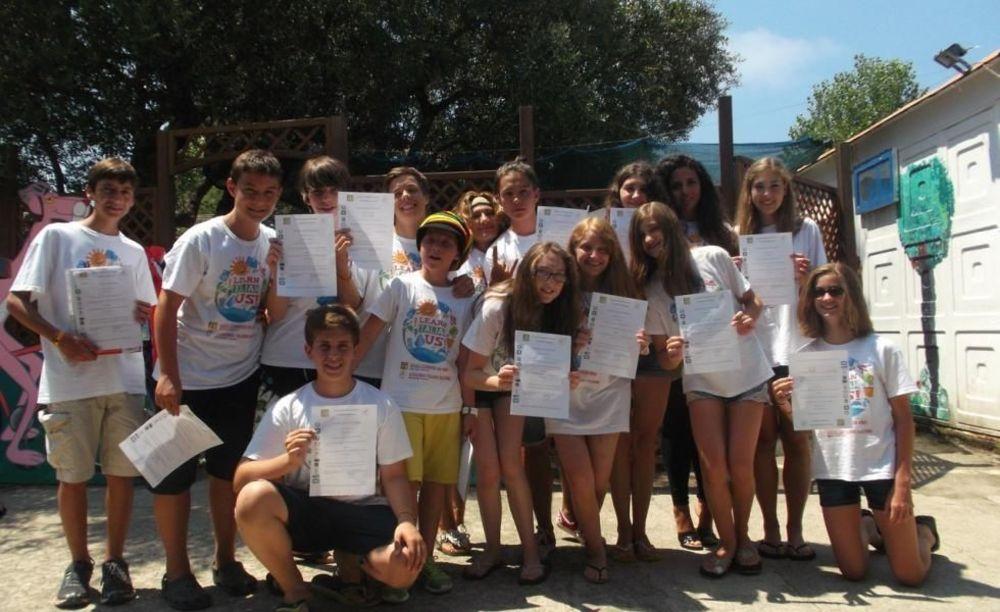 Accademia Italiana Elea Village Club последний день в лагере