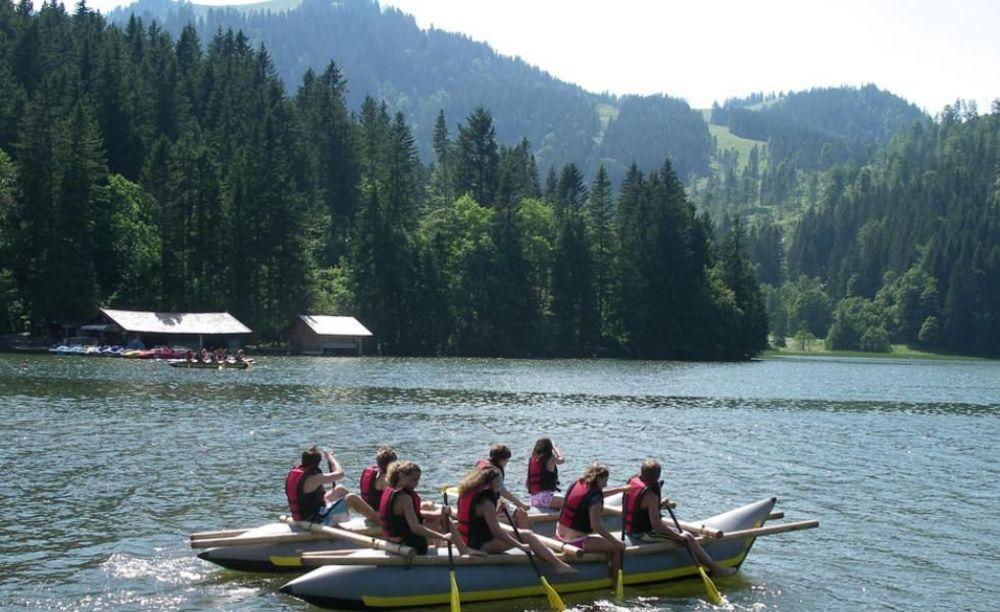 German Language School, озеро