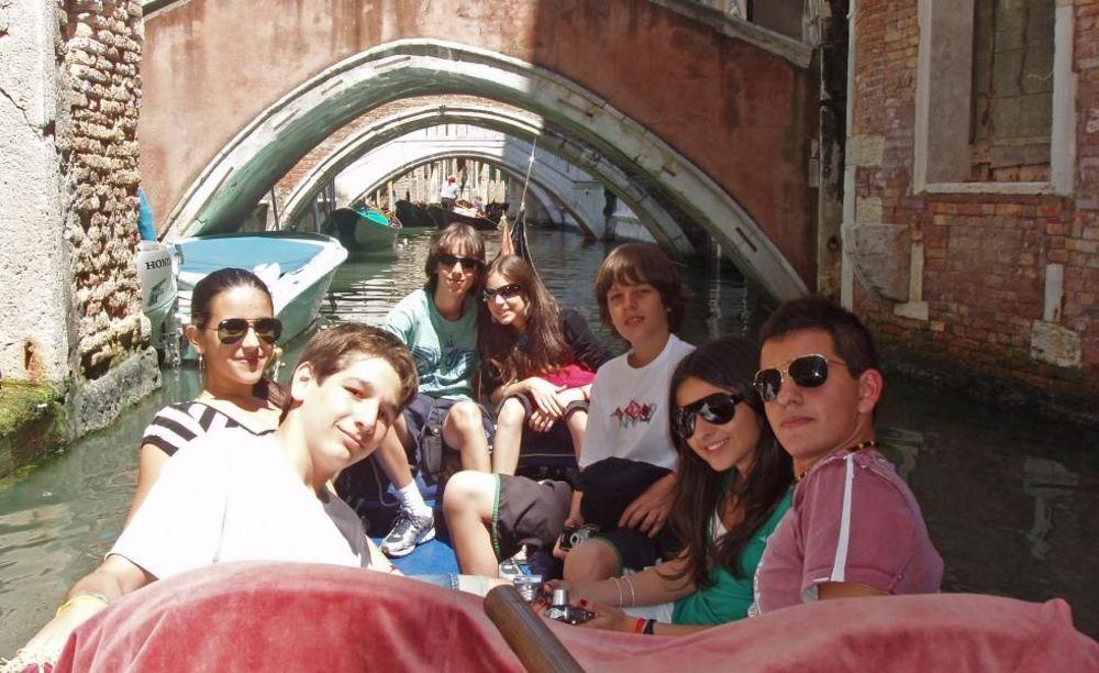 прогулка по каналам Linguaviva Summer Camp, Lignano