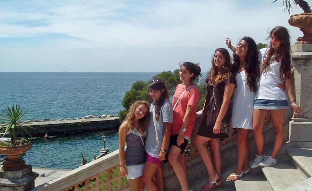 экскурсия в лагере Linguaviva Summer Camp, Lignano