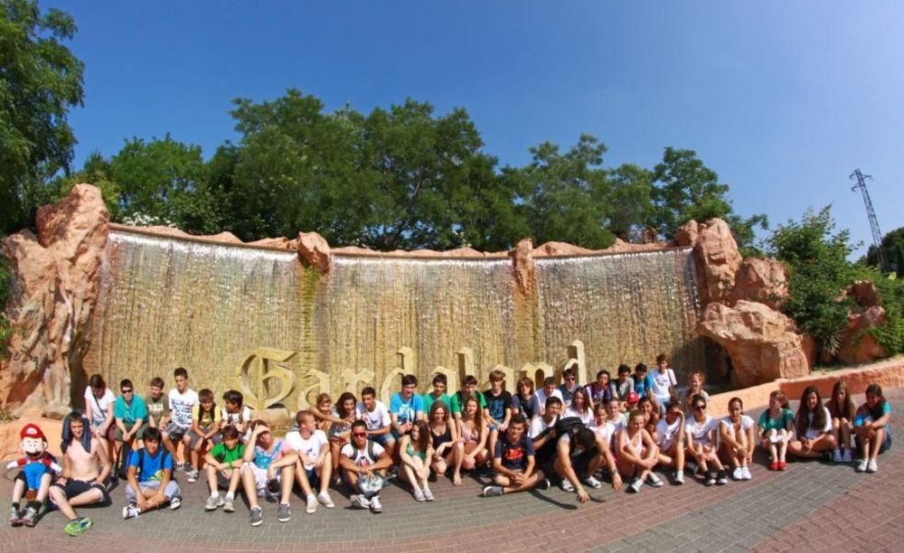 участники лагеря Linguaviva Summer Camp, Lignano