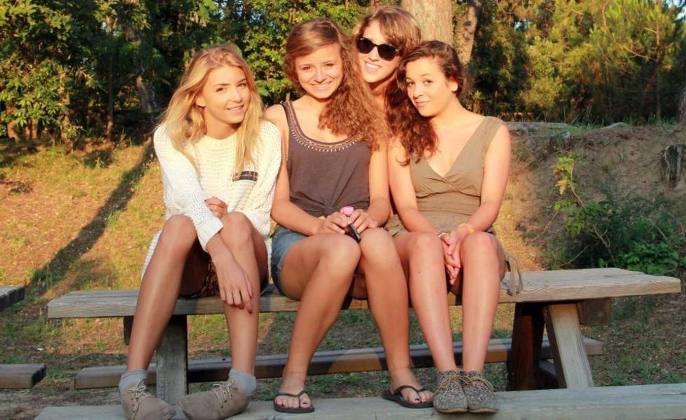 ученицы школы Linguaviva Summer Camp, Lignano