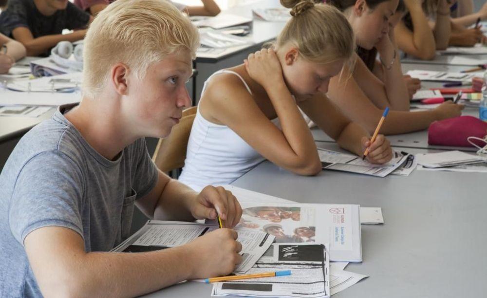 занятия в классе Collegio Papio (Ascona), Alpadia Summer Camps