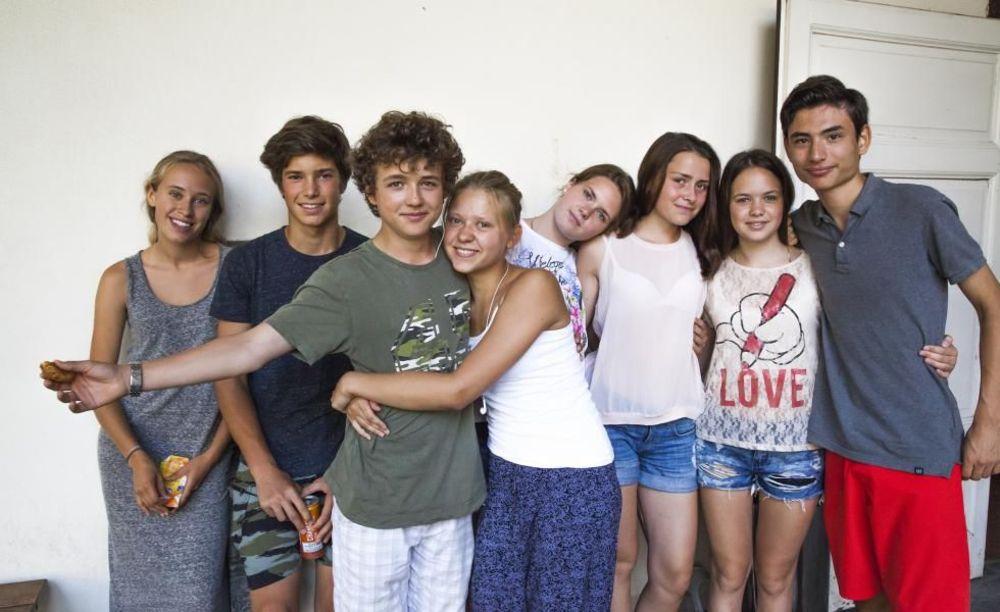 студенты Collegio Papio (Ascona), Alpadia Summer Camps