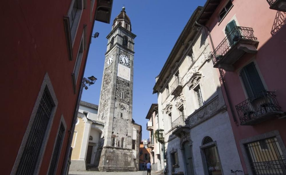 экскурсия по городу Collegio Papio (Ascona), Alpadia Summer Camps