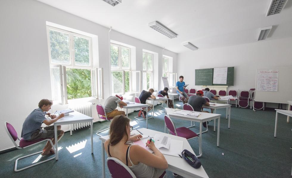 занятия в классе Berlin-Werbellinsee, Alpadia Summer Camps