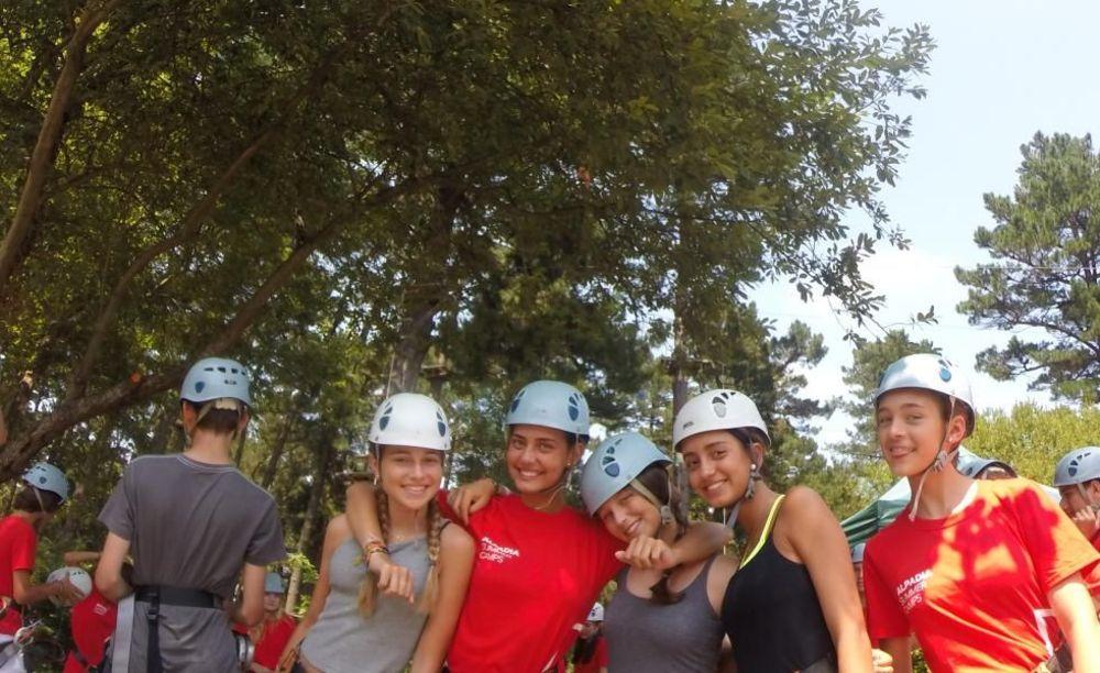 развлекательные мероприятия в лагере Biarritz Alpadia Summer Camps