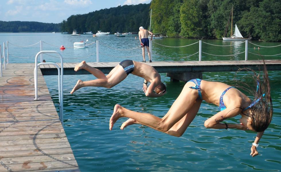 плавание Berlin-Werbellinsee, Alpadia Summer Camps