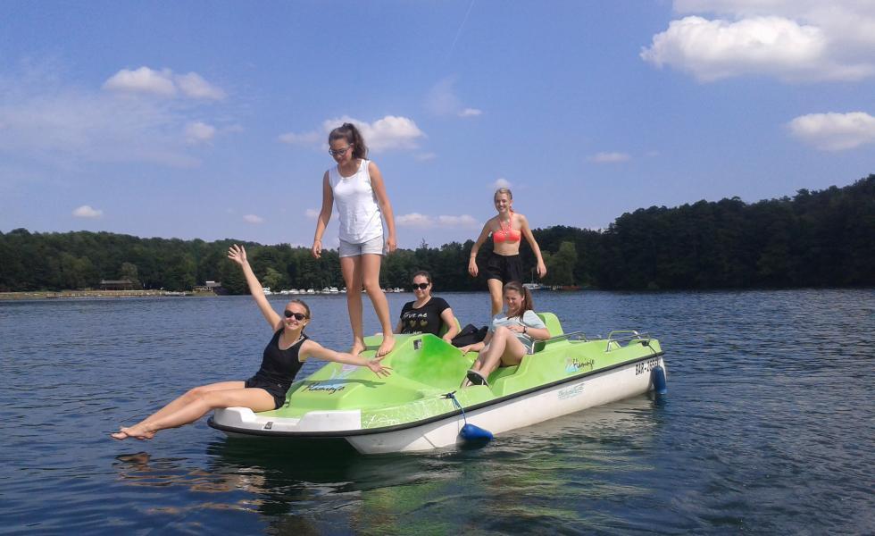 прогулка на катере Berlin-Werbellinsee, Alpadia Summer Camps
