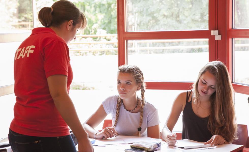 занятия в лагере питание в лагере Alpadia Berlin - Wannsee