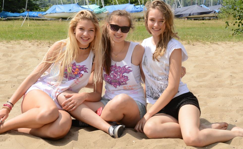 участники лагеря Alpadia Berlin - Wannsee