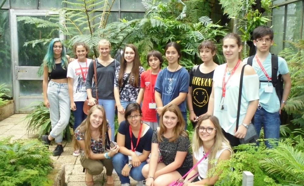 дети на экскурсии в лагере Freiburg, Alpadia Summer Camps